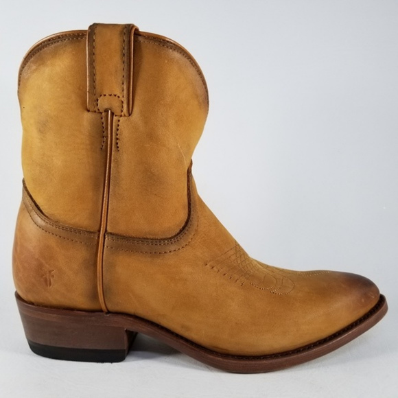 490e519ee08 Frye Billy Short Western Leather Riding Boots
